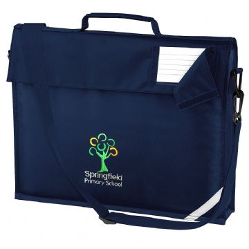 Springfield Primary School Junior Book Bag with Strap